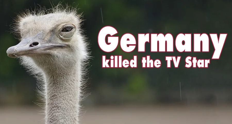 Germany killed the TV Star