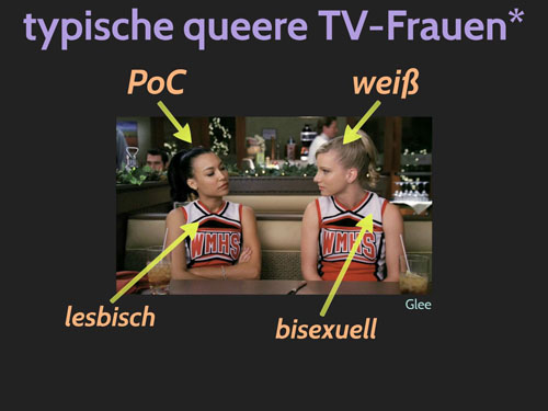 Screenshot aus Glee